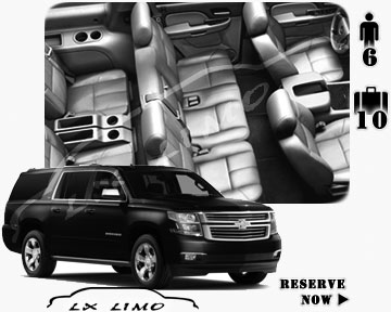 SUV Suburban for hire in Omaha