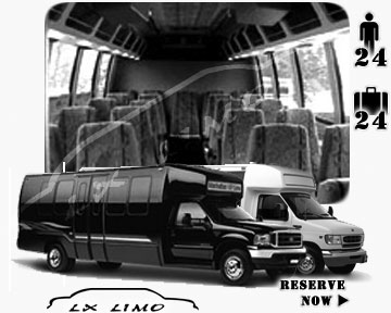 Bus for airport transfers in Omaha, NE