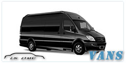 Luxury Van service in Omaha, NE